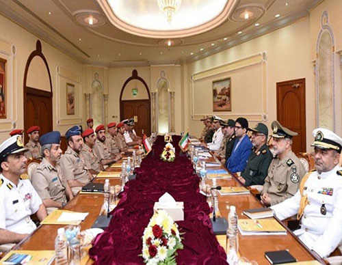 Oman-Iran Military Friendship Committee Meets in Muscat