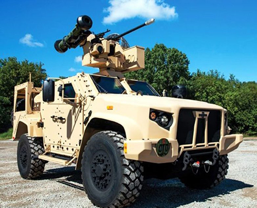 Oshkosh Defense's JLTV Participates in Javelin Flight Test