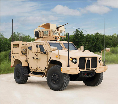 Oshkosh Defense Brings the JLTV to Eurosatory