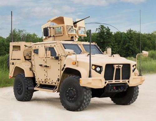 Oshkosh Defense Displays Next Generation Light Vehicles at Dubai Airshow