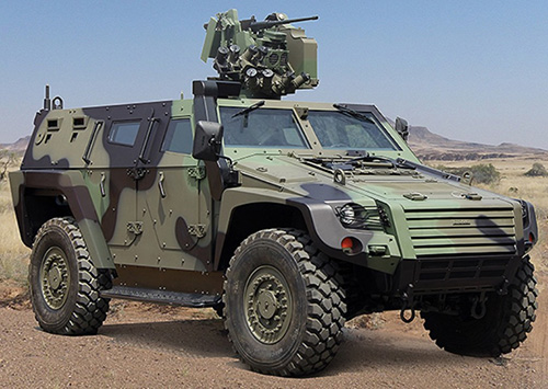 Otokar Awarded Contract for its Armored Vehicles
