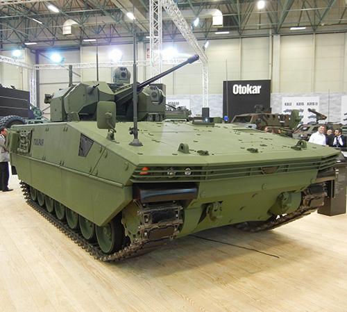 Otokar Debuts its TULPAR Light Tank at Eurosatory