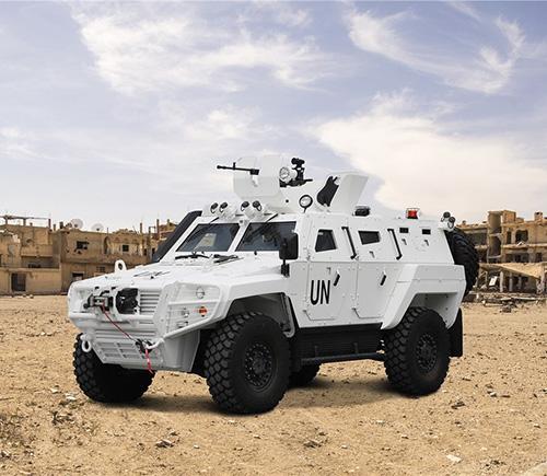 Otokar Promotes Cobra II Armored Personnel Carrier at DSA 2018