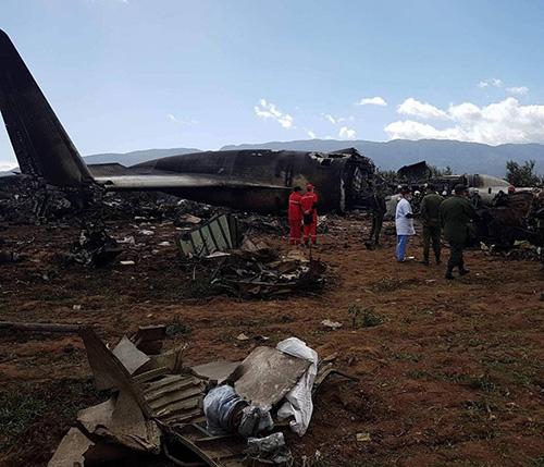 Over 250 Killed in Algerian Military Plane Crash