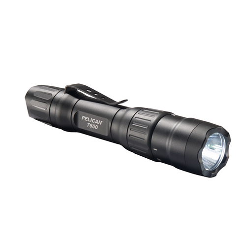 PELI 7600 Tactical Flashlight Preferred by Defense, Law Enforcement Users