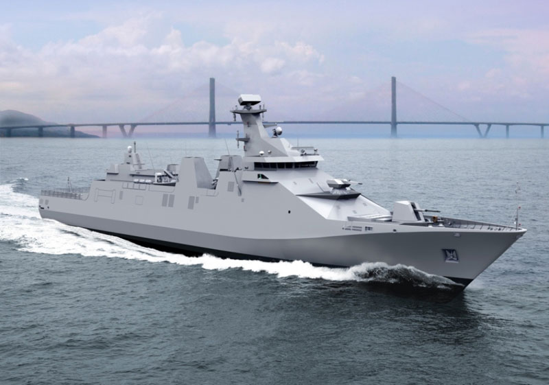 PT Pal Launches First Indonesian Navy SIGMA 10514 PKR Frigate