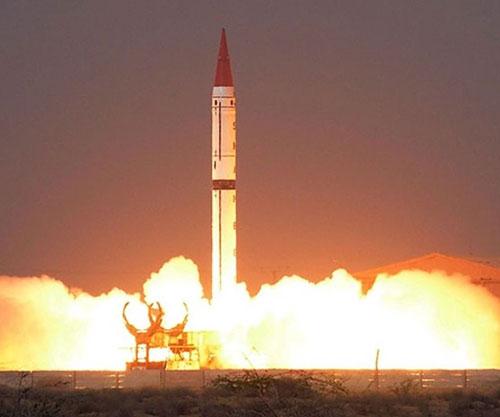 Pakistan Tests Nuclear-Capable Shaheen-III Ballistic Missile