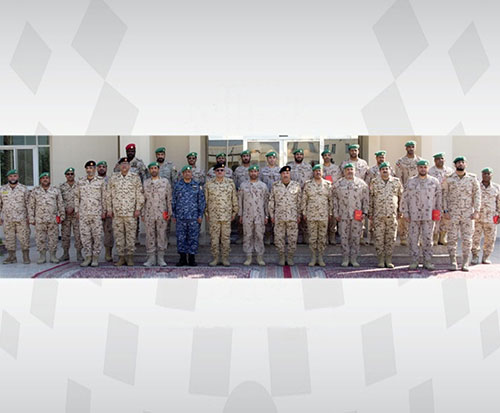 Peninsula Shield Force Officers Honored