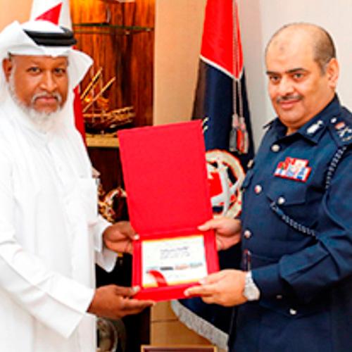 Bahrain Public Security Chief Attends Graduation Ceremony
