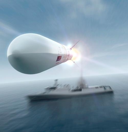 MBDA Sea Ceptor (© MBDA)