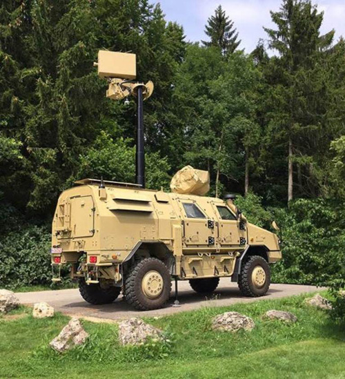 HENSOLDT to Supply 50 Spexer Radars to MENA Region