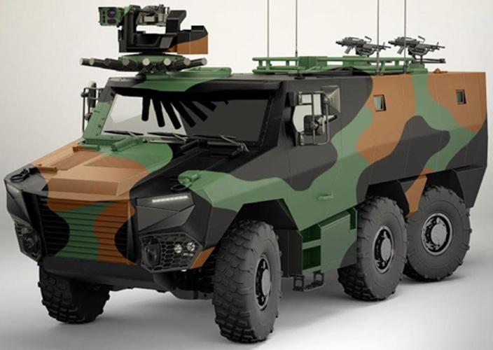 French DGA Orders 319 GRIFFON, 20 JAGUAR Vehicles
