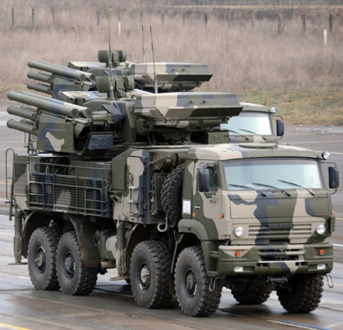 Russian Defense Ministry to Receive New Batch of Pantsir-S