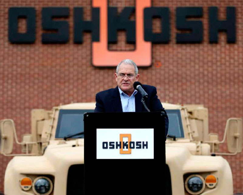 President of Oshkosh Defense to Retire in February