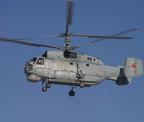 Modernized Ka-27M Helicopters Ready for Serial Delivery