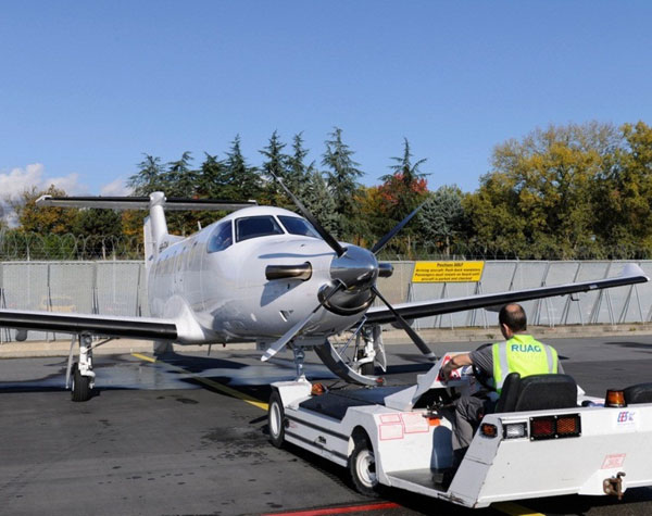 RUAG Installs First Cobham AVIATOR 200 on Pilatus PC-12
