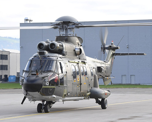 RUAG to Upgrade 8 Swiss Air Force Transport Helicopters