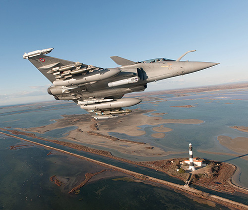 Rafale F3-R Standard Qualified by French DGA