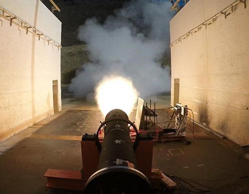 Raytheon's New DeepStrike Missile Rocket Motor Passes Static Test