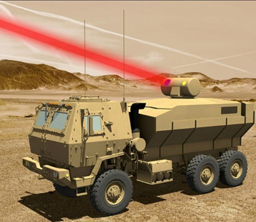 Raytheon Designing U.S. Army Laser