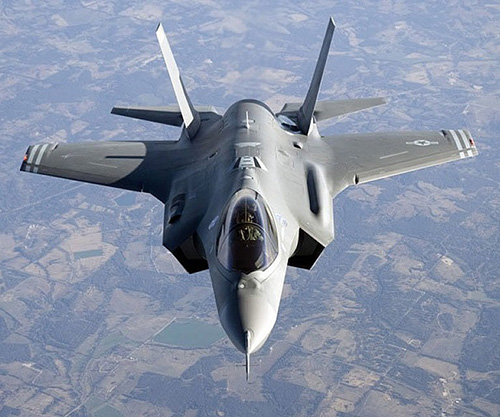 Raytheon to Supply Sensor System for F-35 Fighter Jet