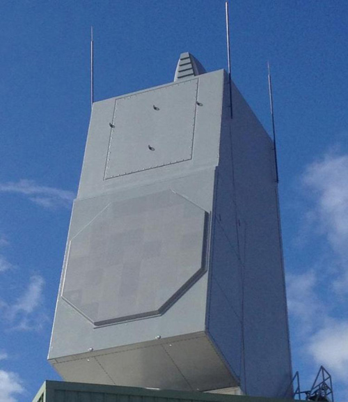 Raytheon's Air & Missile Defense Radar Tracks Simultaneous Targets