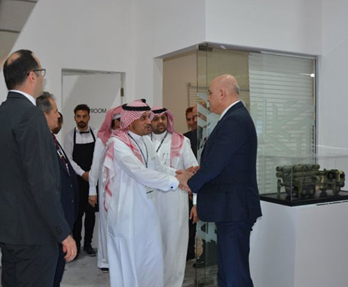 Roketsan Participated at First Saudi International Airhsow