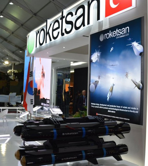 Roketsan Participates at 3 Major Exhibitions in October