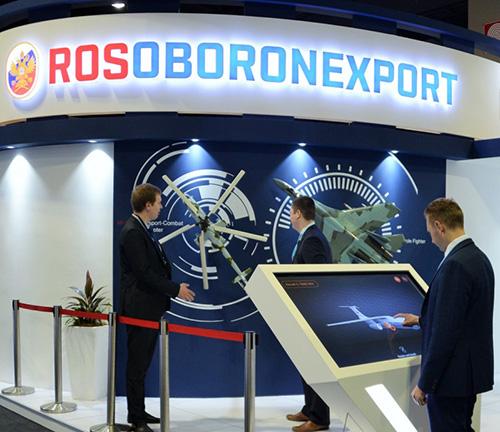 Rosoboronexport Showcases Russian Military Equipment at DSA 2018