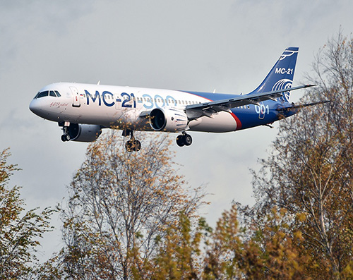 Rostec Tests Accessories of Aircraft Systems for SSJ-100 & MC-21