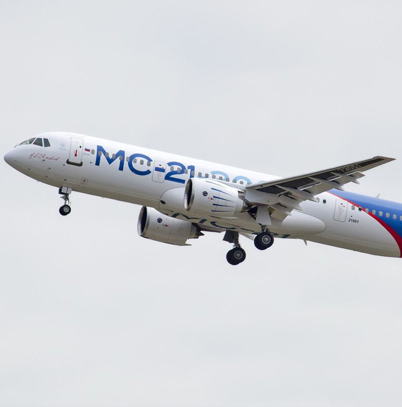 Rostec to Provide After-Sale Service for MC-21 Aircraft