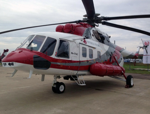 Mi-172 Utility Helicopter Ready for Commercial Deliveries