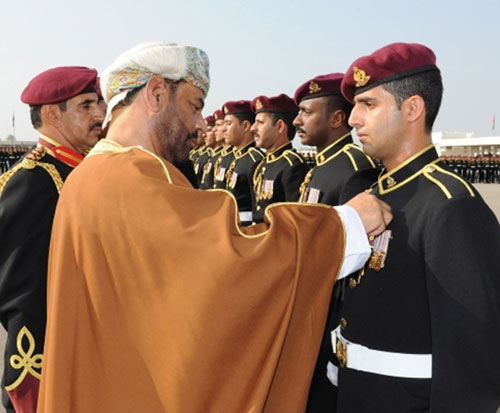 Royal Guard of Oman Celebrates Annual Day
