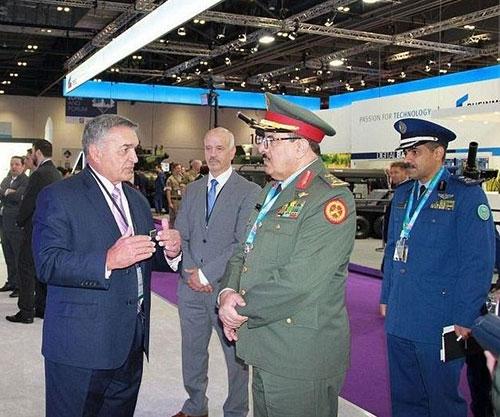 Royal Saudi Air Defense Commander Headed Defense Ministry's Delegation to DSEI 2021
