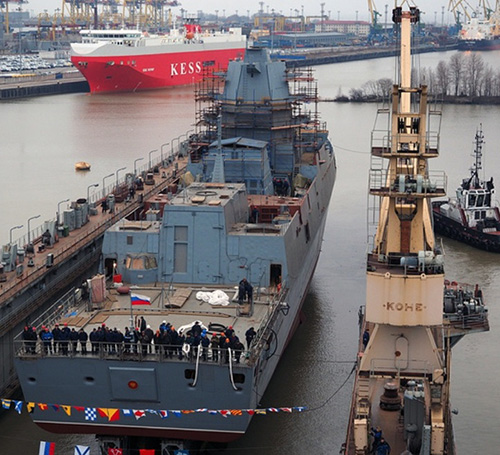 Russia's Admiral Kasatonov Frigate to Start Trials in December