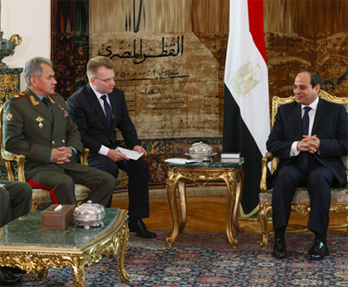 Russia Confirms Readiness to Strengthen Egyptian Army
