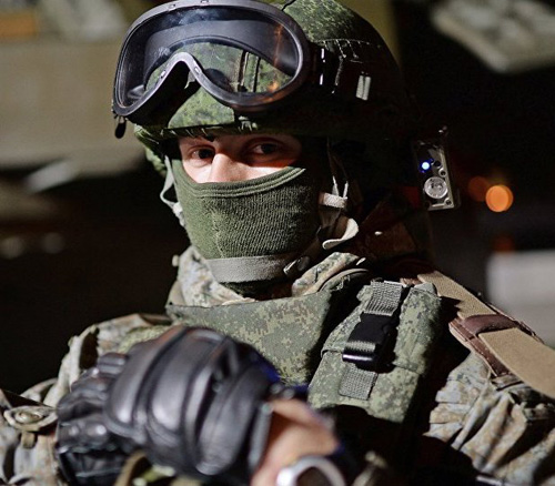 "Russia Develops Armageddon-Proof Watch for ""Future Soldier"""