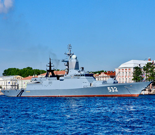 Russia Places Orders for Project 20380 Corvettes, Cruise Missile Onix