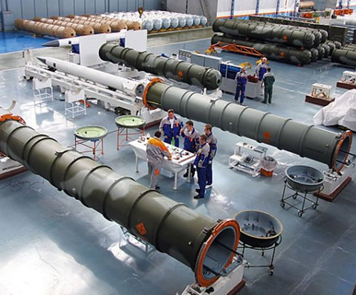 Russia Ranks Second Among World's Arms Producers