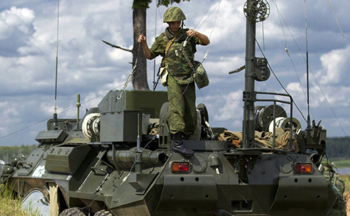 Russia to Develop Electronic Platform for Warfare Troops by 2018