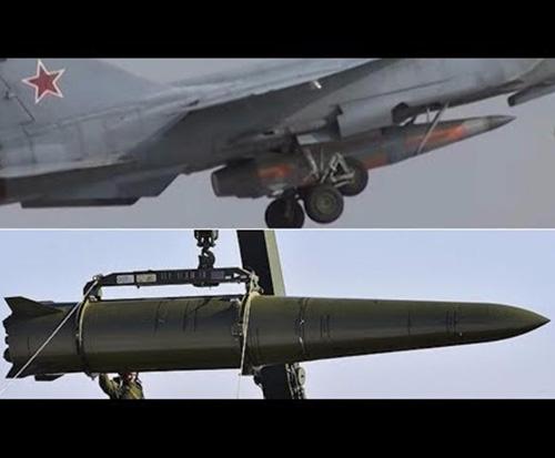 Russia to Unveil Kinzhal Hypersonic Missile at V-Day Parade
