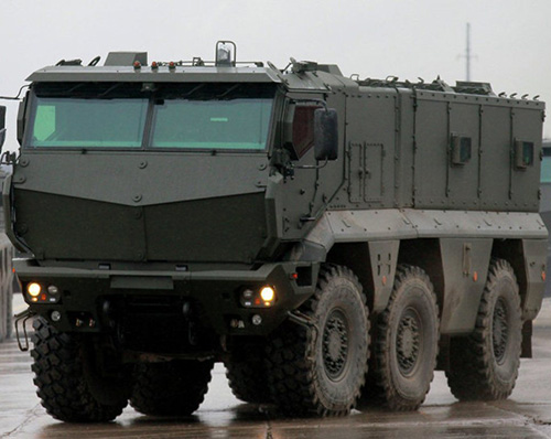 Russia Testing Taifun-Airborne Armored Personnel Carrier