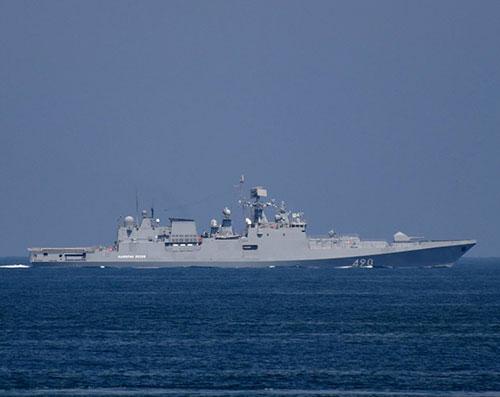 Russian Frigate Admiral Essen Participates at IDEF 2019
