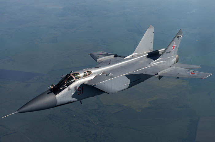 Russian MiG-31BM Takes Longest Non-Stop Flight