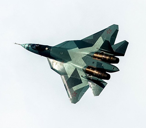 Russian Military Signs First Contract for 12 Su-57 Fighters