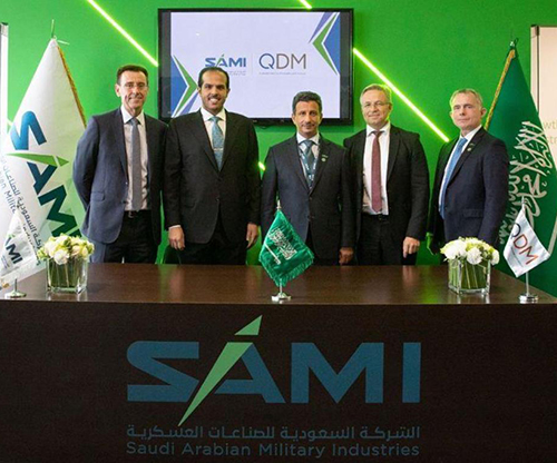 SAMI, QDM to Develop Saudi Capabilities in Testing Defense Products