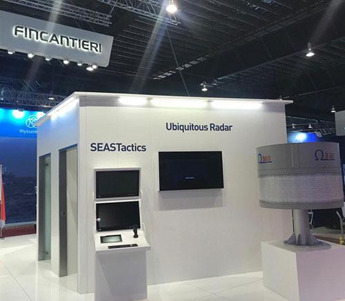 SEASTEMA Showcased Latest Naval Technologies at IMDEX 2019 in Singapore
