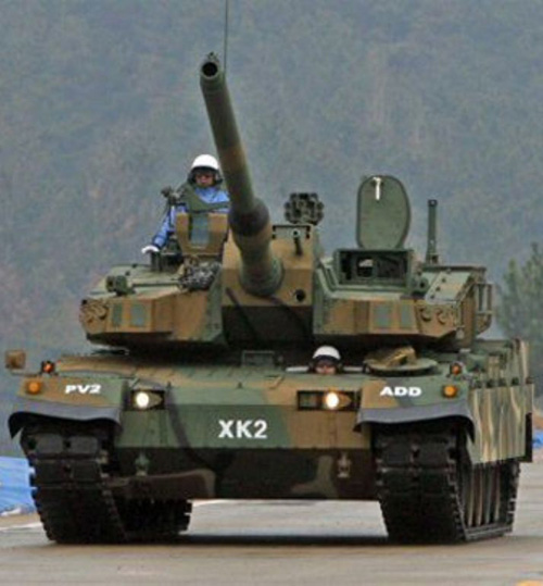 A South Korean K2 Black Panther Main Battle Tank