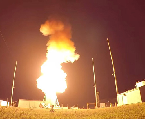 SM-3 Block IIA Destroys Target in First Intercept from Land