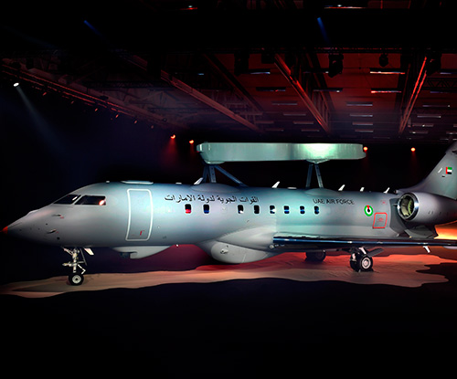 Saab Reveals First GlobalEye AEW&C Aircraft
